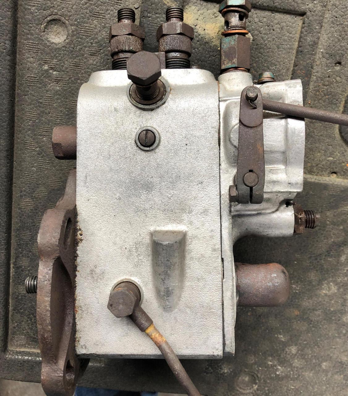 Trockeneisreinigung Motorteile - nachher